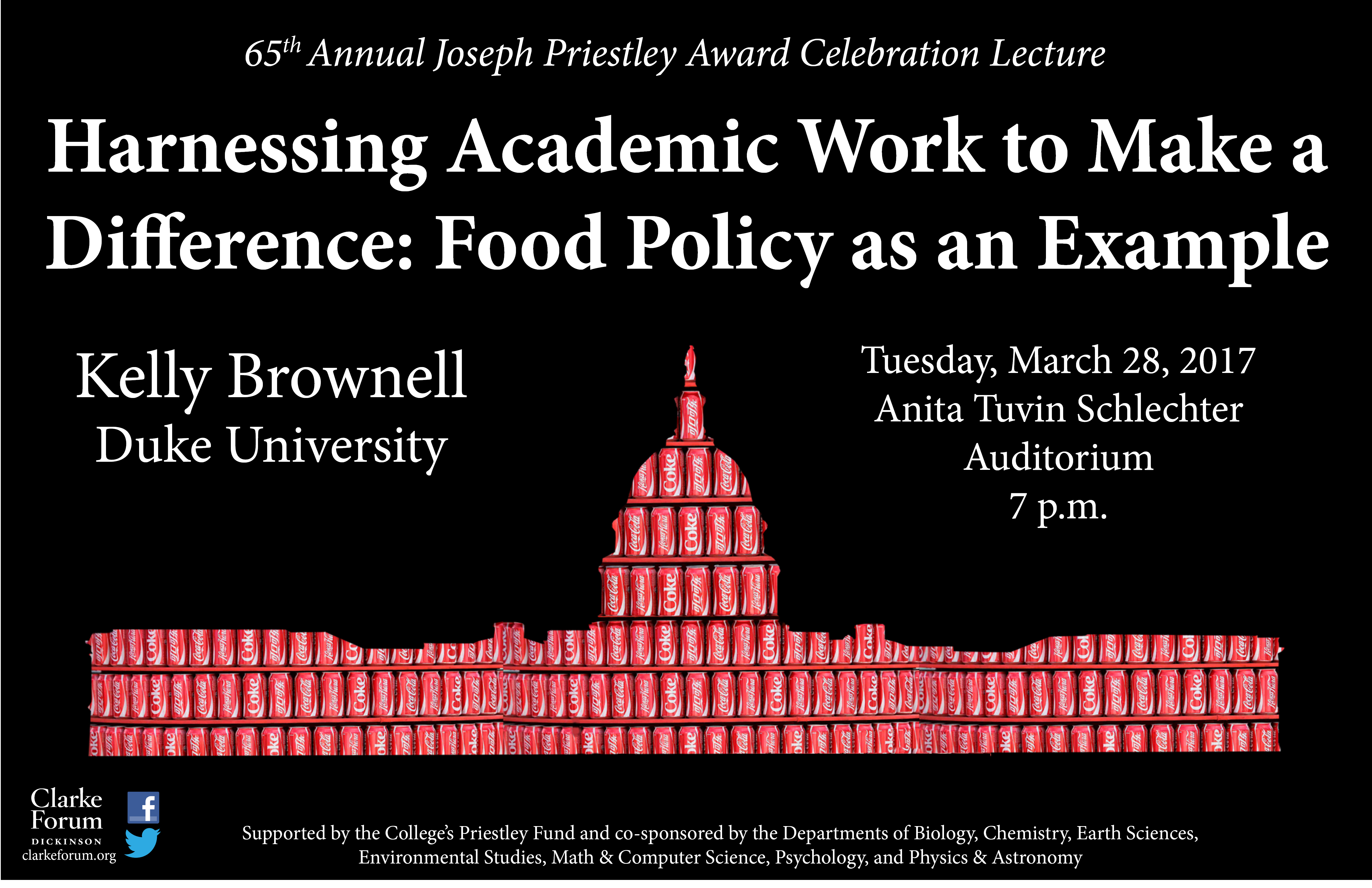 Duke University Joseph Priestley Award Celebration Lecture
