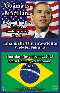 Emanuelle Oliveira-Monte Poster