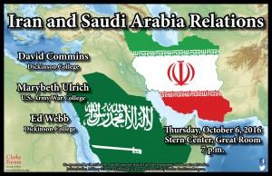 Final Iran Saudi Arabia Poster