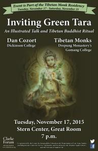 Monks Tara Poster