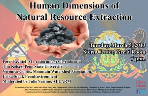 Natural Extraction Panel Poster