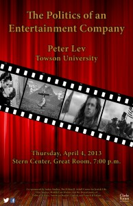 Peter Lev Poster