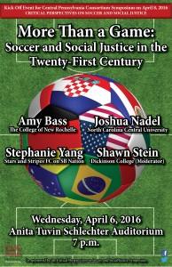 Soccer Panel Poster