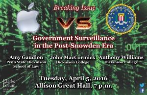 iPhone FBI Poster