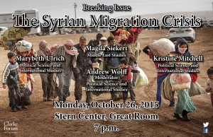 syrian migration crisis poster